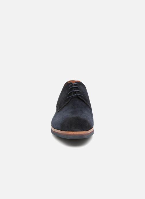 Chaussures à lacets Giorgio1958 GIOTTO Bleu vue portées chaussures