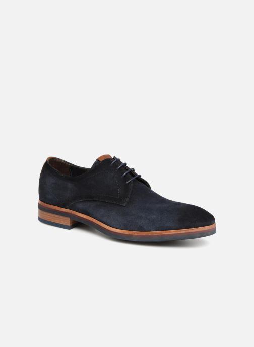 lowest price 76764 4df09 Chaussures à lacets Giorgio1958 GIOTTO Bleu vue détail paire