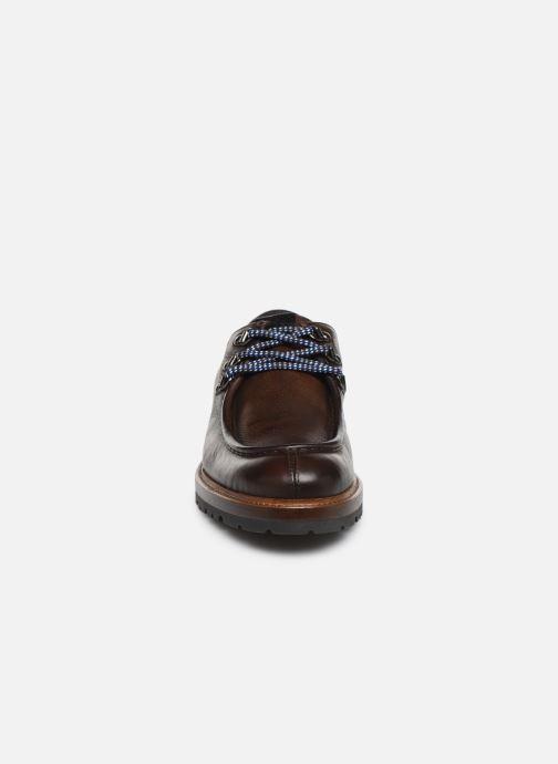 Chaussures à lacets Giorgio1958 GIOTTO Marron vue portées chaussures