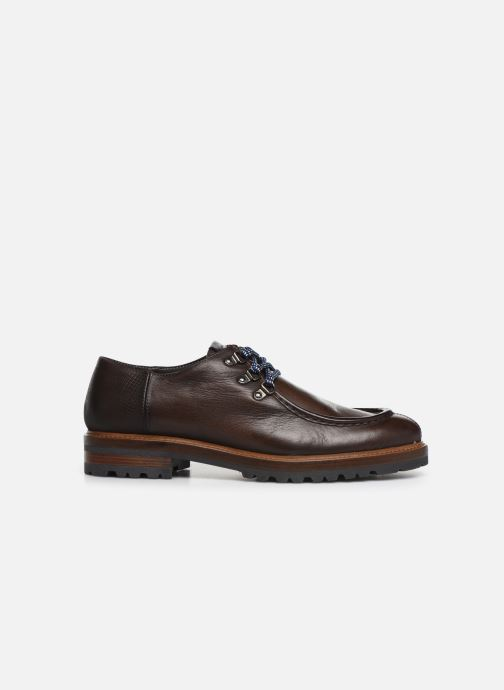 Lace-up shoes Giorgio1958 GIOTTO Brown back view