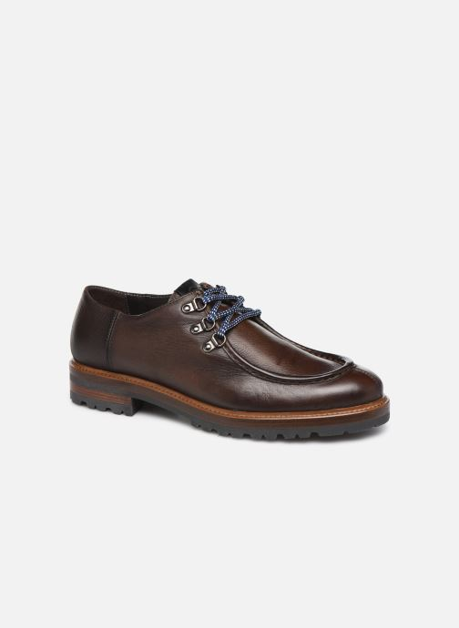 Lace-up shoes Giorgio1958 GIOTTO Brown detailed view/ Pair view