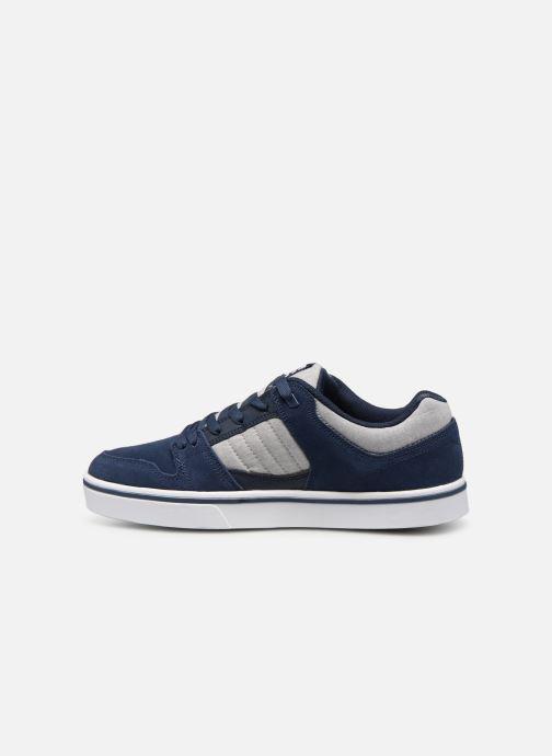 Deportivas DC Shoes Course 2 Se Azul vista de frente