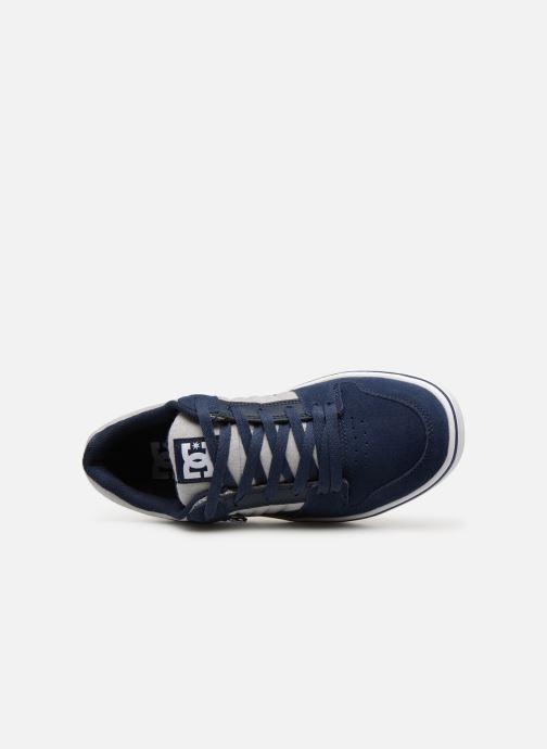Deportivas DC Shoes Course 2 Se Azul vista lateral izquierda