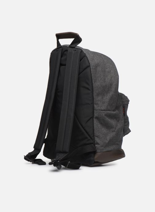 Mochilas Eastpak WYOMING Gris vista lateral derecha