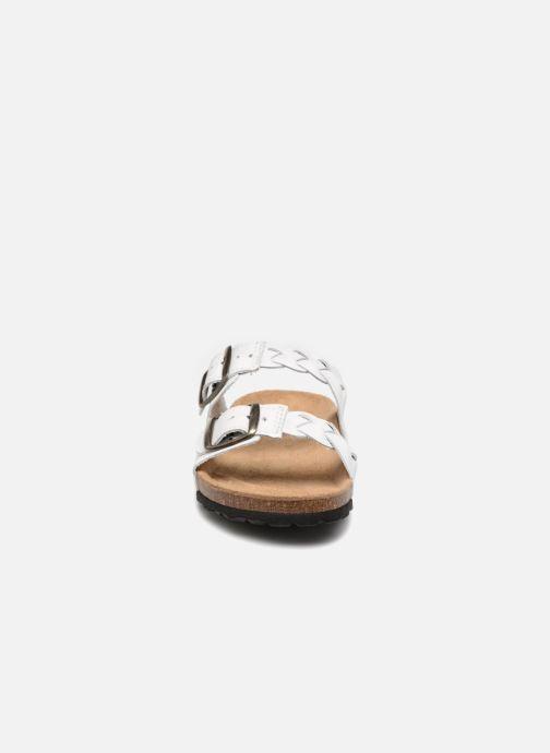 Mules et sabots Shoe the bear CARA L Blanc vue portées chaussures