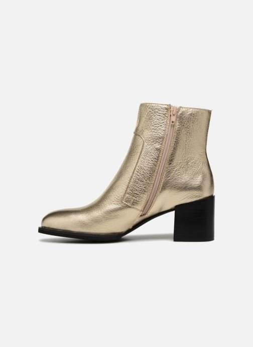 Ankle boots Shoe the bear CECI L Bronze and Gold front view