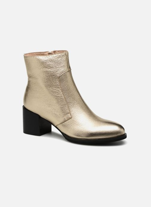 Ankle boots Shoe the bear CECI L Bronze and Gold detailed view/ Pair view