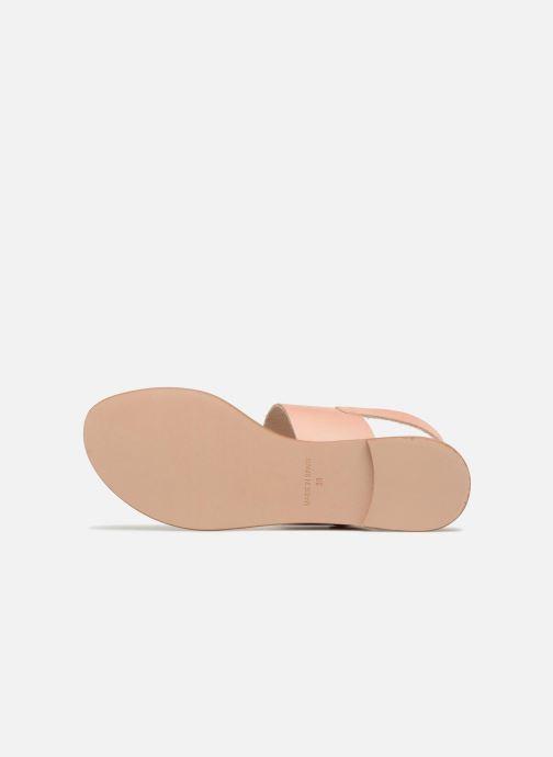 Sandales et nu-pieds Shoe the bear FLORA L Argent vue haut