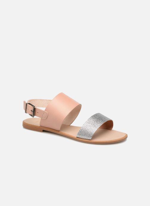 Sandales et nu-pieds Shoe the bear FLORA L Argent vue détail/paire