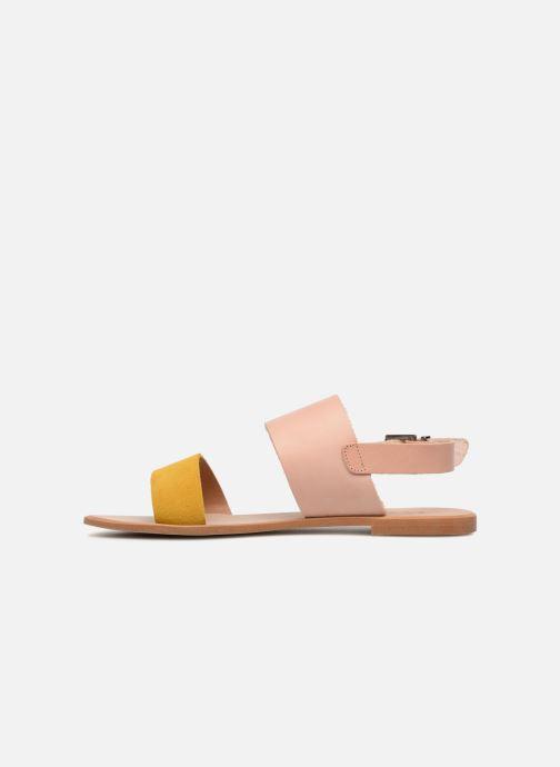 Sandales et nu-pieds Shoe the bear FLORA L Jaune vue face
