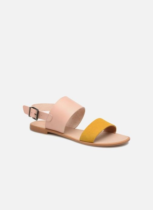 Sandals Shoe the bear FLORA L Yellow detailed view/ Pair view