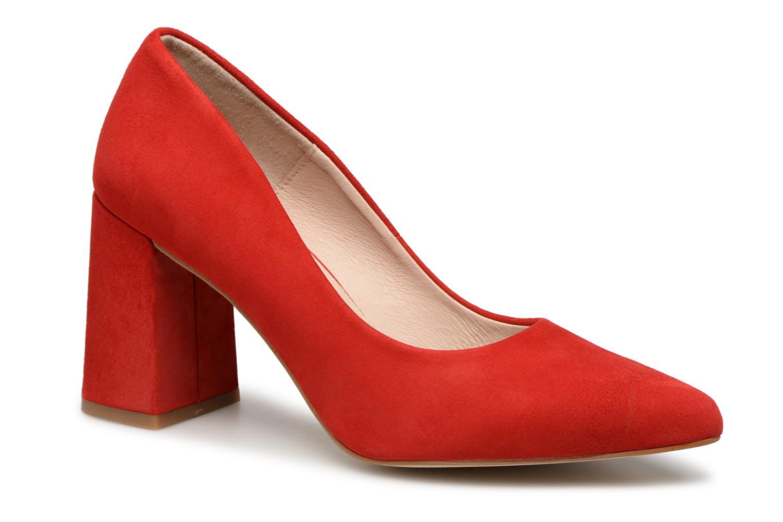 Escarpins Shoe the bear JANE S Rouge vue détail/paire