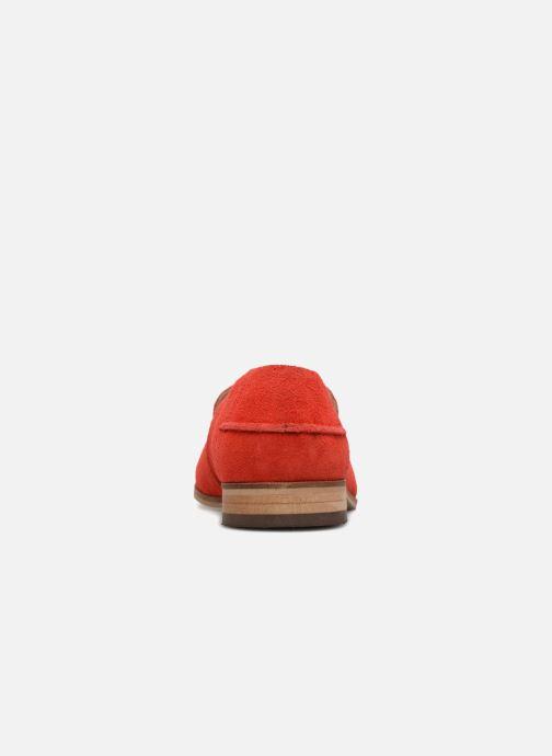 Mocasines Shoe the bear JUNO S Rojo vista lateral derecha