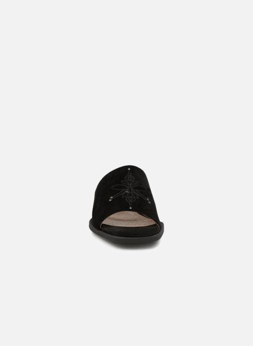 Mules et sabots Shoe the bear MARCY S Noir vue portées chaussures