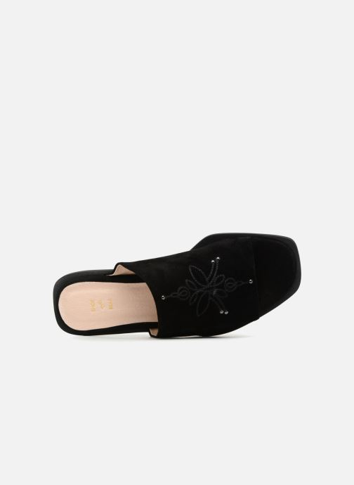 Zuecos Shoe the bear MARCY S Negro vista lateral izquierda