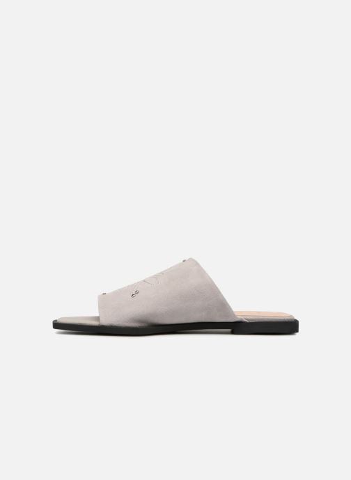 Mules et sabots Shoe the bear MARCY S Gris vue face