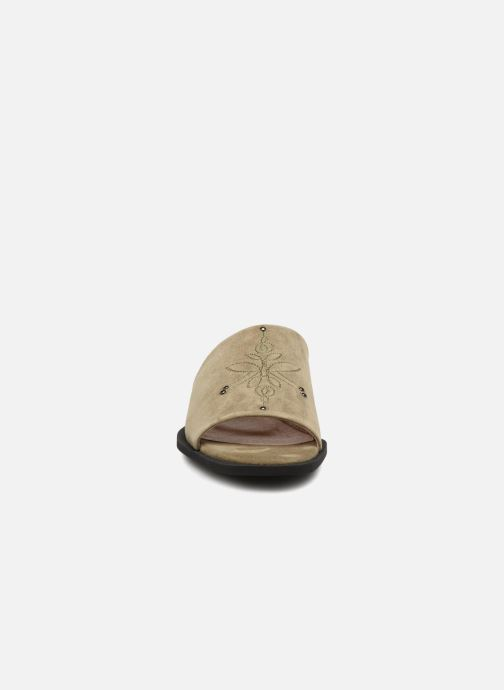Mules et sabots Shoe the bear MARCY S Vert vue portées chaussures