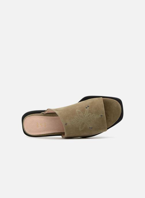 Mules et sabots Shoe the bear MARCY S Vert vue gauche