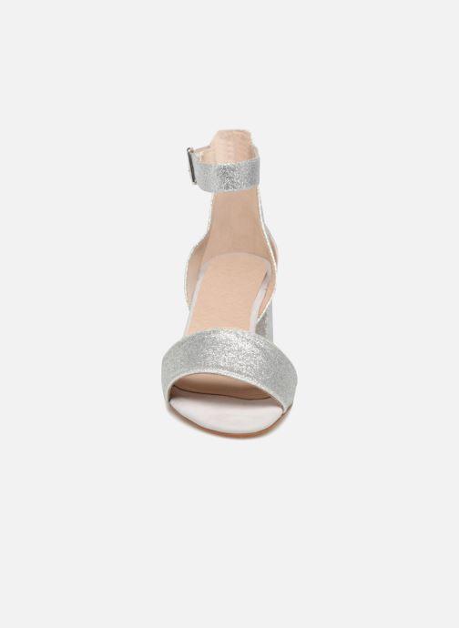 Sandales et nu-pieds Shoe the bear MAY T Argent vue portées chaussures