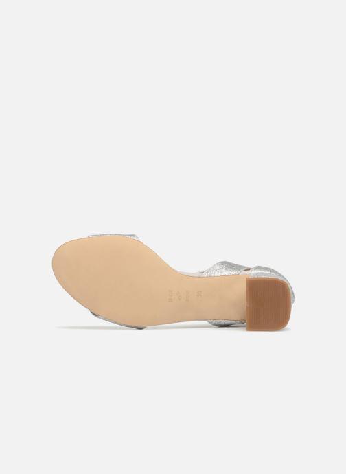 Sandales et nu-pieds Shoe the bear MAY T Argent vue haut