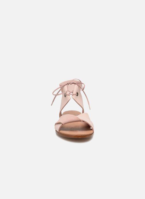 Sandales et nu-pieds Shoe the bear MONA L Rose vue portées chaussures