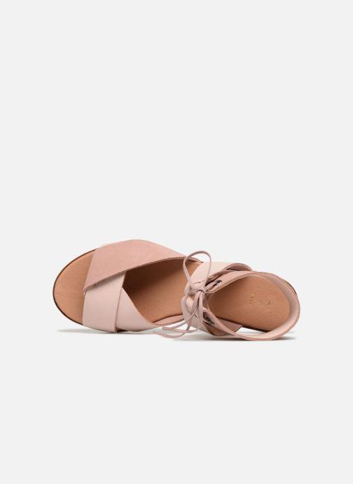 Sandales et nu-pieds Shoe the bear MONA L Rose vue gauche