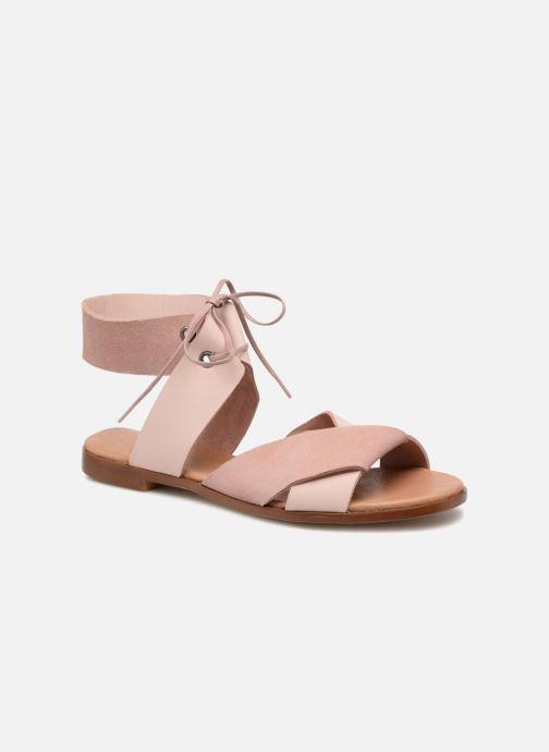 Sandales et nu-pieds Shoe the bear MONA L Rose vue détail/paire