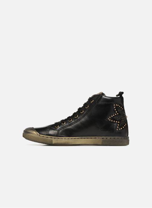 Sneakers Romagnoli Flora Zwart voorkant