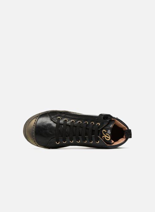 Sneakers Romagnoli Flora Zwart links