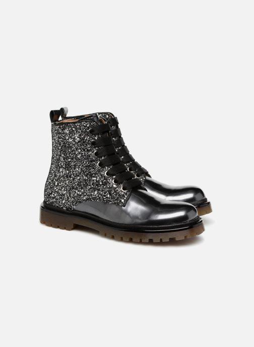 Bottines et boots Romagnoli Gemma Noir vue 3/4