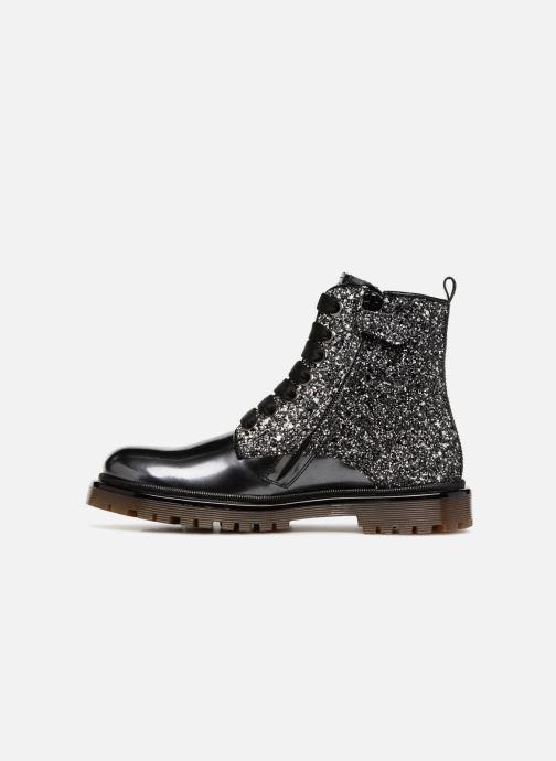 Bottines et boots Romagnoli Gemma Noir vue face