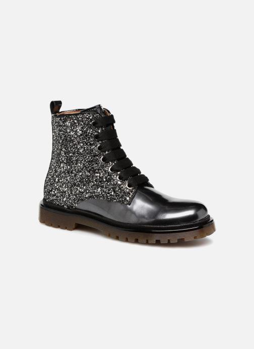 Bottines et boots Romagnoli Gemma Noir vue détail/paire