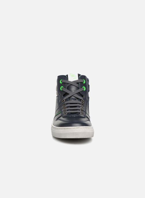 Baskets Romagnoli Danilo Bleu vue portées chaussures