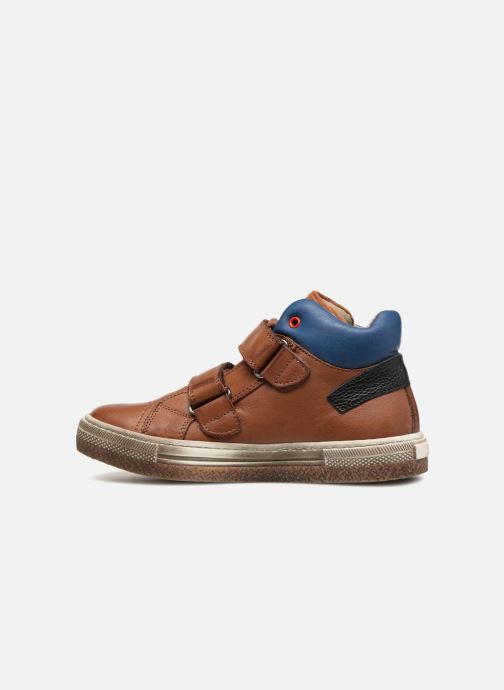 Trainers Romagnoli Federico Brown front view
