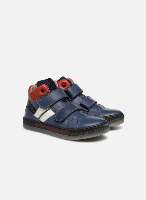 Sneakers Romagnoli Federico Blauw 3/4'