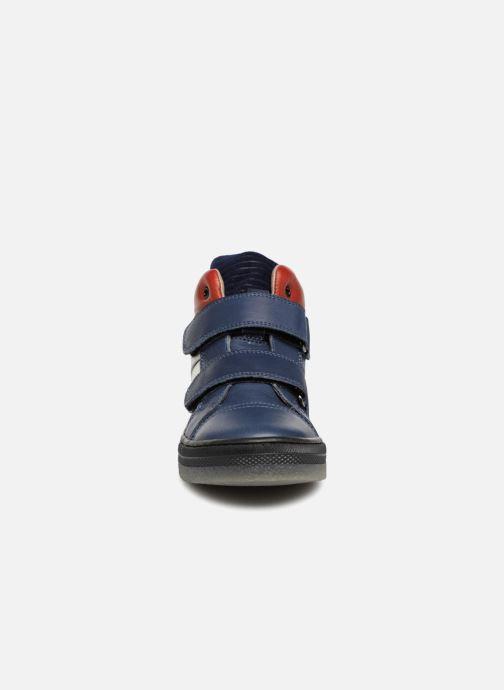 Baskets Romagnoli Federico Bleu vue portées chaussures
