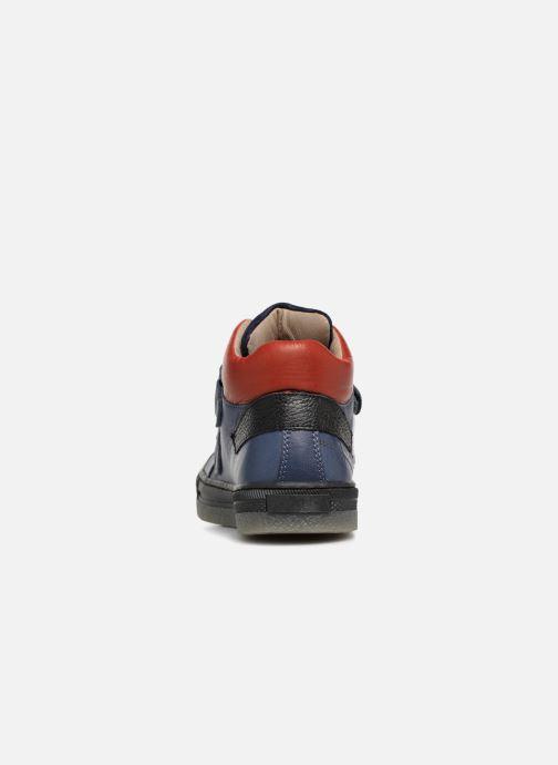 Sneakers Romagnoli Federico Blauw rechts