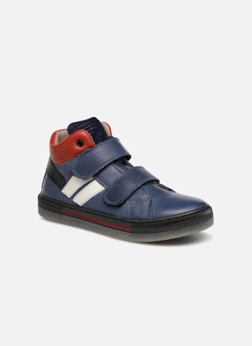 Sneakers Romagnoli Federico Blauw detail