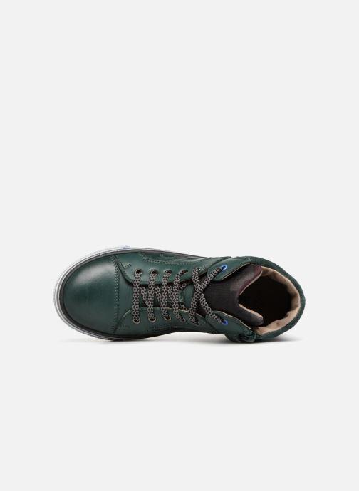 Baskets Romagnoli Luca Vert vue gauche