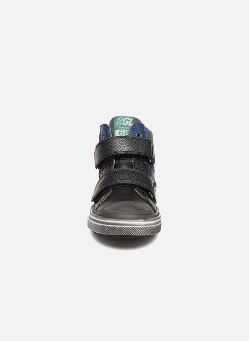 Baskets Romagnoli Nicolo Noir vue portées chaussures