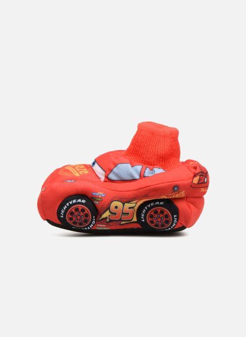 Hausschuhe Cars Sabazan rot ansicht von vorne