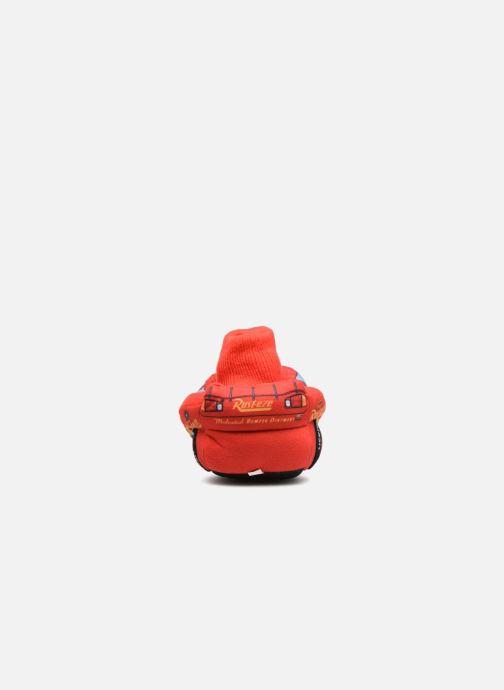 Hausschuhe Cars Sabazan rot ansicht von rechts