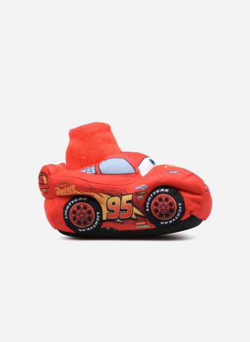 Hausschuhe Cars Sabazan rot ansicht von hinten