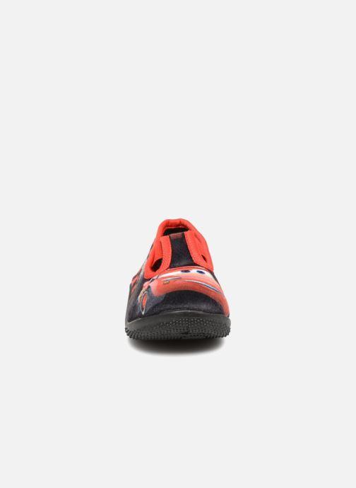 Chaussons Cars Soglio Gris vue portées chaussures