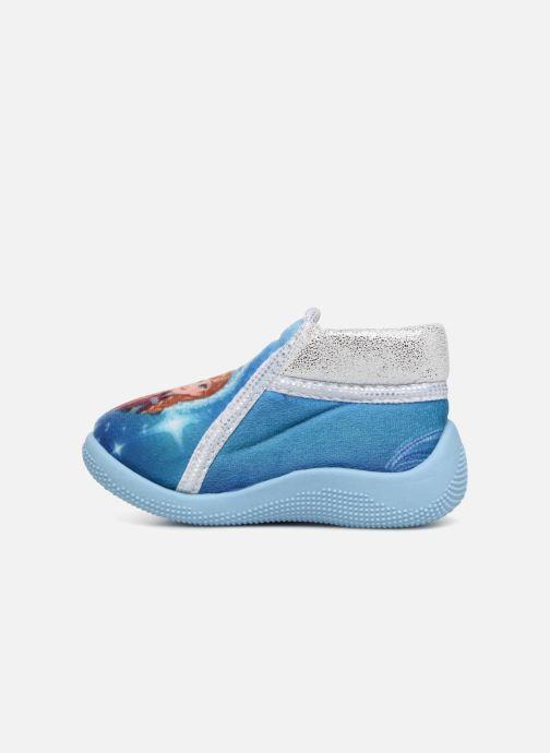 Pantuflas Frozen Sergine Azul vista de frente