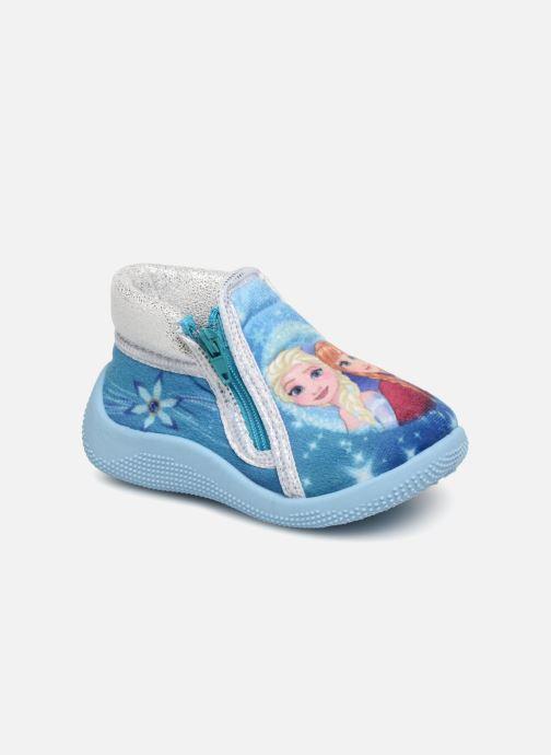 Chaussons Frozen Sergine Bleu vue détail/paire