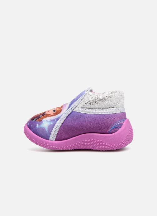 Slippers Frozen Sergine Purple front view