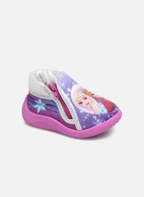 Chaussons Frozen Sergine Violet vue détail/paire