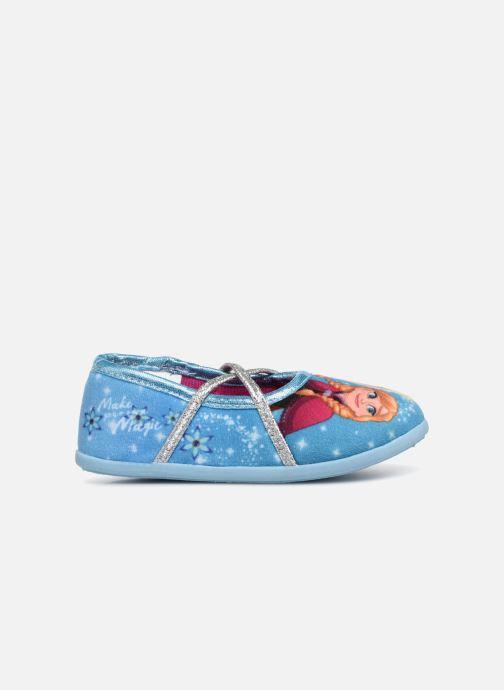Pantuflas Frozen Septante Azul vistra trasera