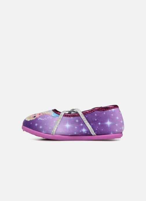 Chaussons Frozen Septante Violet vue face